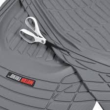 100 Heavy Duty Truck Floor Mats Motor Trend MT923GR Flextough Contour LinersDeep Dish