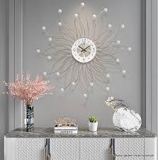 71 cm wanduhr wohnzimmer dekoration