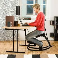 bureau ergonomique chaise de bureau ergonomique en tissu et bois variable varier