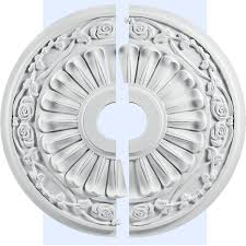 Two Piece Ceiling Medallions Cheap by Large Ceiling Medallions Quatro Square Ceiling The Home Depot