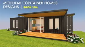 100 Prefab Container Houses Modern Shipping Modular Homes INBOX 320L YouTube