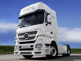 100 Mercedes Semi Truck Benz Actross V8 16 European Big S