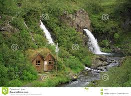 100 Water Fall House By The Waterfall Stock Image Image Of River