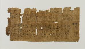 Sheet From A Book Of The Dead Ca 1075 945 BCE Papyrus