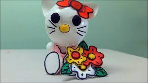 DIY Crafts Plastic Bottles Hello Kitty By Recycled