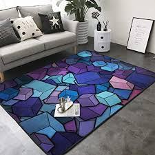 kasablaro wolf teppich kunstdruck modern für