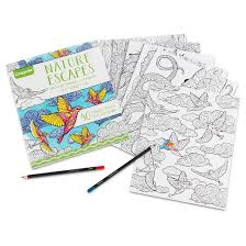 Bright Inspiration Target Coloring Books Crayola Adult Book