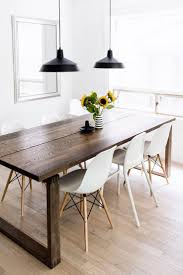 Dining Room Tables Ikea by Best 25 Dark Wood Dining Table Ideas On Pinterest Dinning