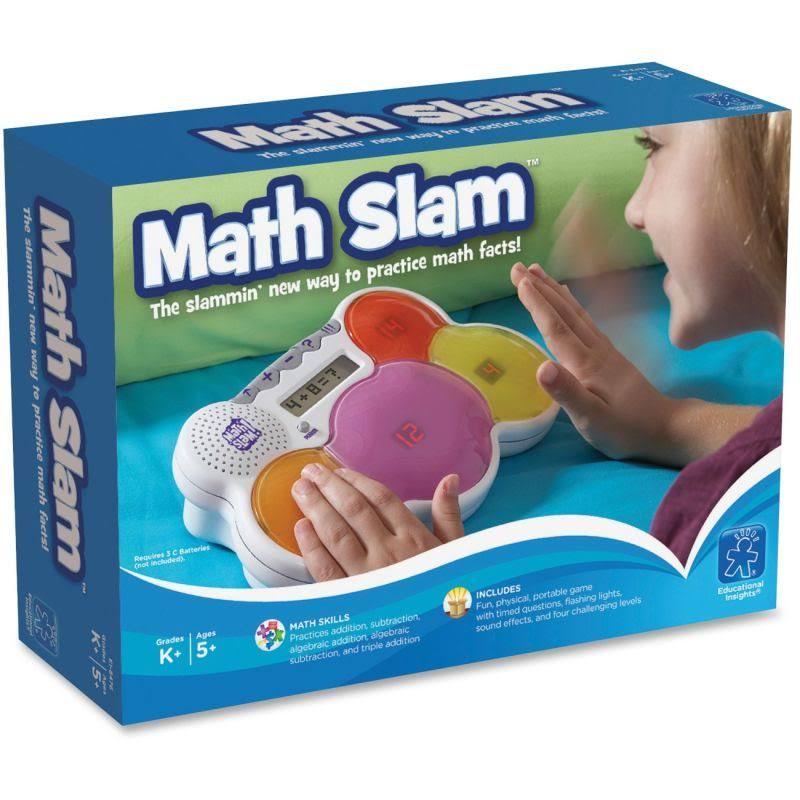 Educational Insights Math Slam Electronic Travel Game