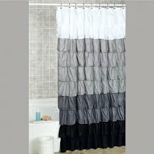 grey ruffle shower curtain target curtain ideas