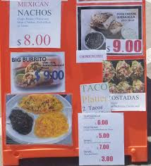 100 Big Truck Taco Menu El NeNe Sammy Food Truck Menu SLC Menu