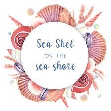 100 Sea Shell Design Shell Wreath Marine Life Summertime Travel On The Beach