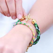Kumihimo Bracelet Kit DIY Kumihimo Bracelet Jewellery Making Kit
