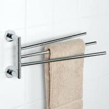 Bathroom Towel Bar Ideas by Bathroom Towel Rack Height From Floor Image Of Wall Bathroom Towel