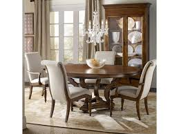 Hooker Furniture Archivist 5 Piece Dining Set With Round Pedestal ... Trisha Yearwood Home Music City Hello Im Gone Ding Room Table Grey Griffin Cutback Upholstered Chair Along With Dark Wood Amazoncom Formal Luxurious 5pc Set Antique Silver Finish Tribeca Round And 2 Upholstered Side Chairs American Haddie Light Tone 4 Value Hooker Fniture Corsica Rectangle Pedestal Matisse With W Ladder Back By Paula Deen Vienna Merlot Kayla New
