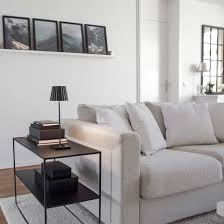 monochrome wohnen ideen tipps zum wohnen in schwarz weiß