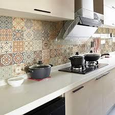 fliesenaufkleber selbstklebend zementfliesen aufkleber wanddekoration fliesenaufkleber für bad und küche 10 x 10 cm 30 stück