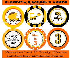 Free Printable Construction Signs | Construction Truck Party Circles ... Birthday Cstruction Themed Party With Free Printables  Noted Trucks Pictures Amazon Com 12340 Watsons Cstruction Truck Birthday Party Holy City Chic Truck Dessert Cake Plates Napkins And Cups Home Ideas Invitations Monster Fire Envelopes First Themed Invites Items Similar To Augustines 2nd M Loves Stay At Homeista Boys Name Age Poster Crane