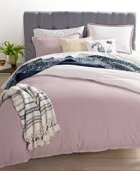 whim by martha stewart collection cotton linen mauve bedding