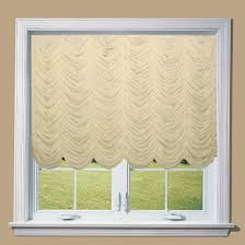 Kitchen Curtains Searsca by Pull Up Fabric Curtains Set Shirred Curtains Which Are