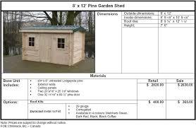jeca shed 6 x 8 plans