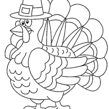 Printable Thanksgiving Coloring Pages For Kids Halloween Arts
