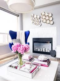 100 Modern Chic Living Room Chic Living Room Blue Egg Chair Peonies Seattle Fashion