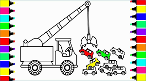 100 Construction Truck Coloring Pages Crane Best Crane Learning