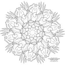 GrownUp Colouring Book Nature Adult Colouring Grey Scale