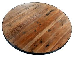 Awesome Unfinished Wood Table Tops Atelier Theater Pertaining To Round Attractive
