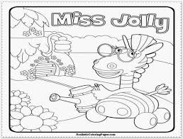 Free Printable Coloring Jungle Junction Pages 44 In For Kids With