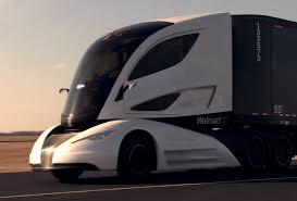 100 Concept Trucks 2014 Walmart Unveiled Futuristic Tractor Trailer Desi