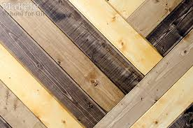 Diy Herringbone Wood Paneled Wall Decor Woodworking Projects Close Up Shot Of