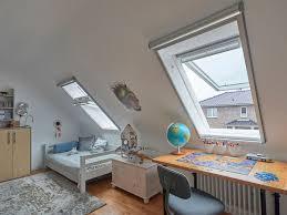 neues schlafzimmer unter dem dach velux