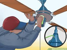 Hunter Ceiling Fan Grinding Noise by How To Oil A Ceiling Fan With Pictures Wikihow