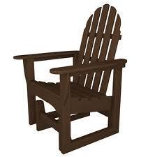 Outer Banks Polywood Folding Adirondack Chair by Polywood Adirondack Chair Ebay