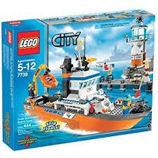 Lego Ship Sinking 3 by Amazon Com Lego City Coast Guard Patrol 60014 Discontinued By