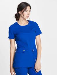 the snap pocket tunic royal blue medical scrubs lab coats and