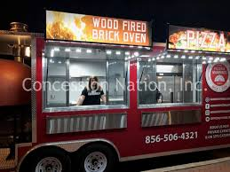 100 Brick Oven Pizza Truck Food S Concession Trailers Mobile S