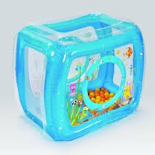 piscine a balle gonflable aire de jeu et 50 balles thème mer ludi picwic