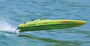 villainous fast outlaw electric rc boat w racing motor