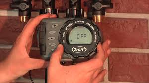 Hose Faucet Timer Orbit by 2016 Orbit Expandable Watering Timer Youtube