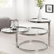 wohnzimmer beistelltisch couchtisch 3 deco design glas