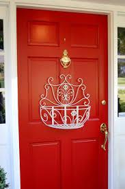 Mardi Gras Wooden Door Decorations by Front Door Decoration To Welcome Guests