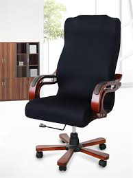 Office Chair Covers, Removable Cover Stretch Cushion Resilient Fabric  Computer Chair /Desk Chair/Boss Chair /Rotating Chair / Executive Chair  Cover, ... Leather Office Chair Cover Beandsonsco View Photos Of Executive Office Chair Slipcovers Showing 15 Melaluxe Cover Universal Stretch Desk Computer Size L Saan Bibili Help Gloves Shihualinetm Cloth Pads Removable Gallery 12 20 Size Washable Arm Slipcover Rotating Lift Covers Chairs Without Arms Ikea Ding Room Slipcover Eleoption Seat High Back Large For Swivel Boss Lms C Best With Lumbar Support Small