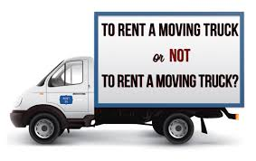 Whether Or Not To Rent A Moving Truck