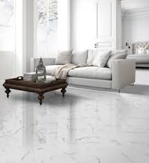 statuario white rectified porcelain wall and floor tile
