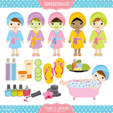Spa Party Clipart May