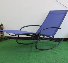 Steel Sling Camping Chairs Patio Garden Leisure Rocking Chair - Buy Chaise  Lounger,Sun Lounger,Rocker Product On Alibaba.com