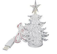 Christmas Tree Amazon Prime by Amazon Com Usb Powered Miniature Christmas Tree Multicolor Leds